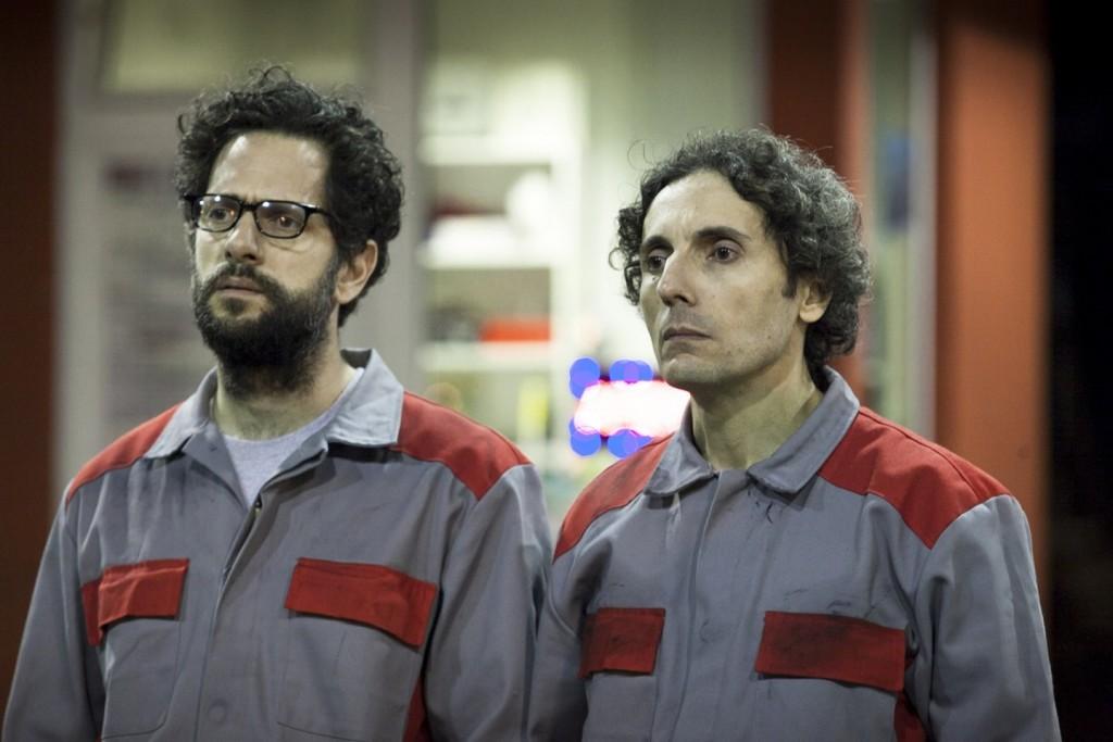 """I due latinisti benzinai del film """"Smetto quando voglio""""."""