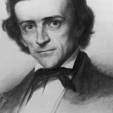 Theodor  Mommsen giovane