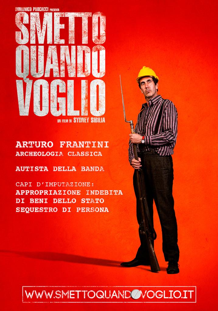 L'archeologo Arturo Frantini