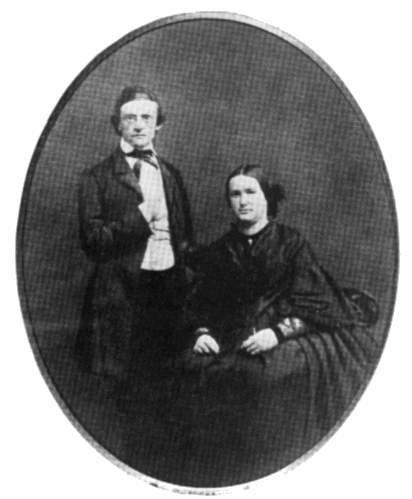 Mommsen e Frau Marie Auguste Reimer , sua moglie
