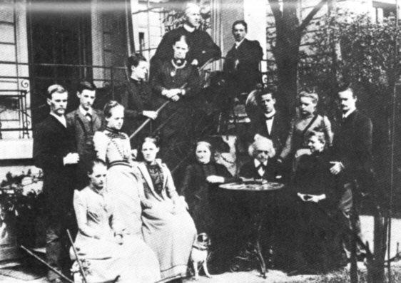 Mommsen , una famiglia patriarcale