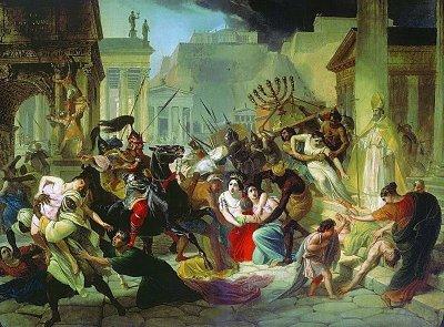 Sacco di Roma (410 d.C.) operato da tris-tris-avolo dei Lanzi