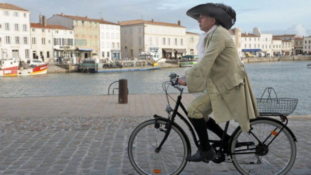 Luchini, Alceste à bicyclette