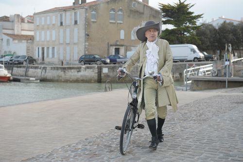 Luchini alias Alceste en Alceste à bicyclette