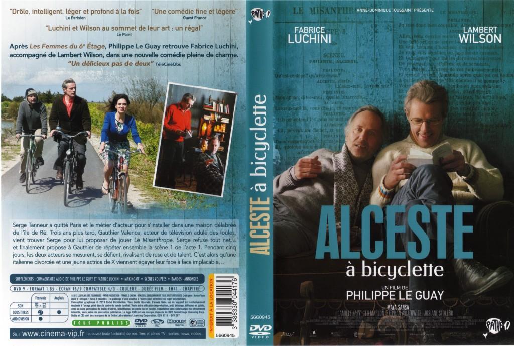 Alceste à bicyclette: les trois protagonistes