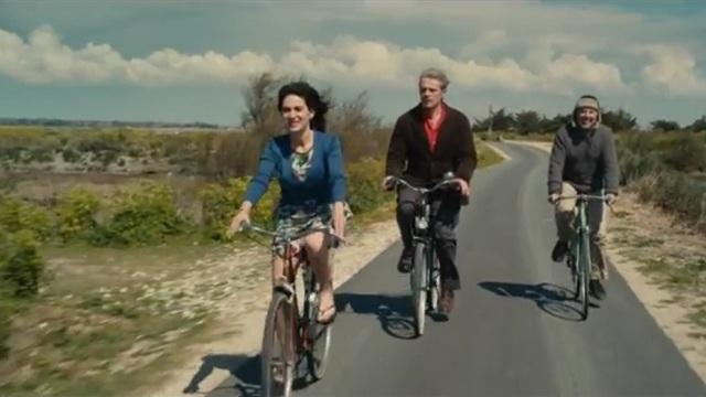 Alceste à bicyclette: lel trois protagonistes