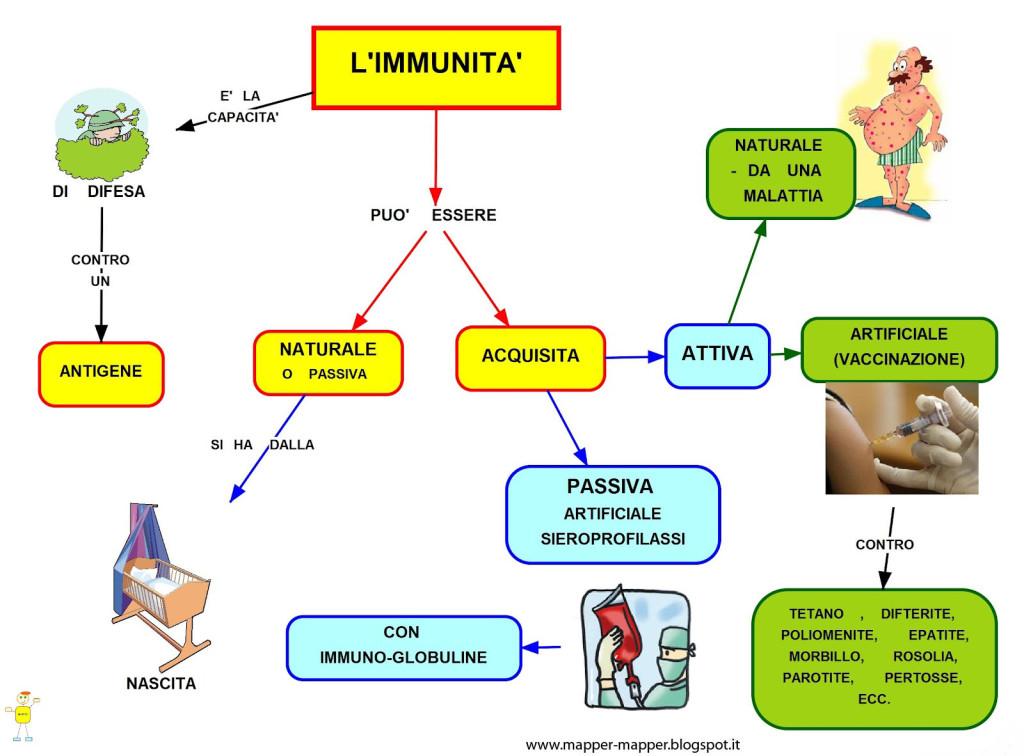 Il Sitema Immunitario ti dà l'Immunità, cioé la Salvezza