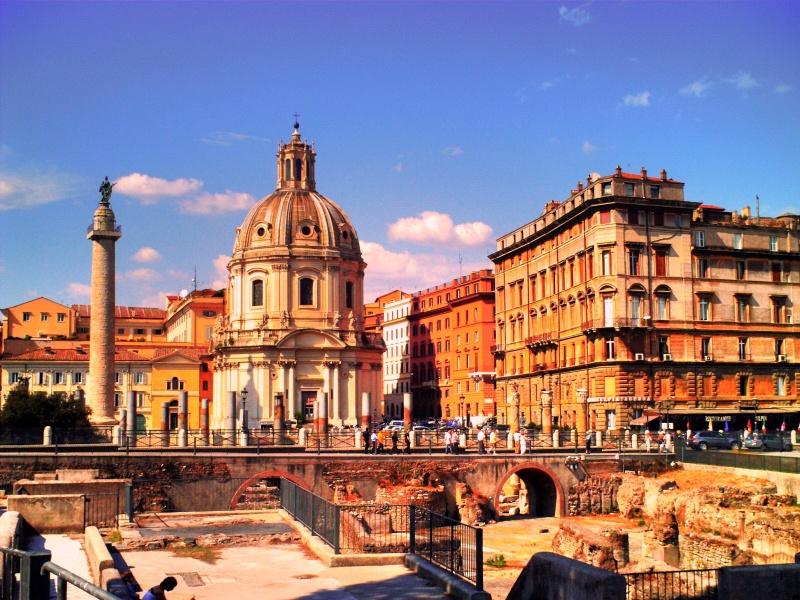 Roma: Foro Traiano