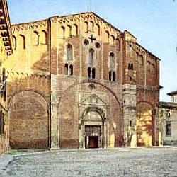 Roma: Severino Boezio. Basilica di San Pietro in Ciel d'Oro (Pavia )