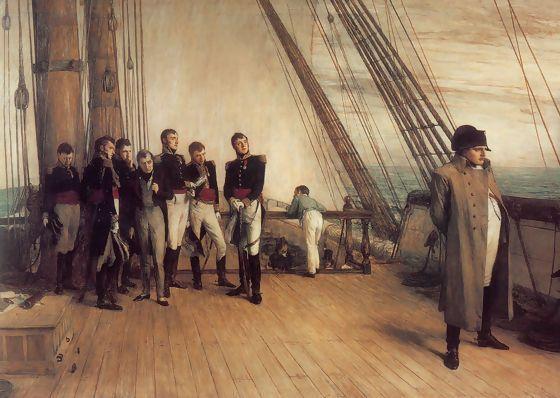 Napoleone ei Vangelo; Verso Sant'Elena