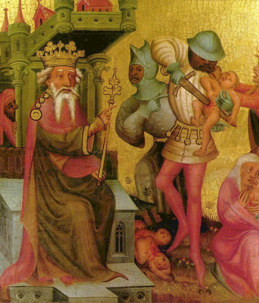 Pilato e Giuda (I): La strage degli Innocenti (Bertram von Minden)