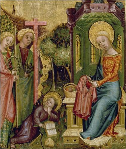 Pilato e Giuda (I). Maria (Bertram Buxtehuder)