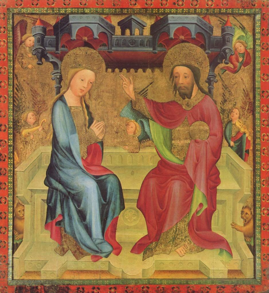 Pilato e Giuda (I): Incoronazione di Maria (Bertram von Minden