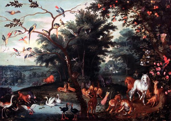 Jan Brueghel il Giovane: Il Paradiso Terrestre