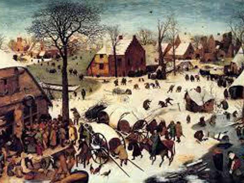 Brueghel (II): Paesaggio invernale con la strage degli Innocenti.