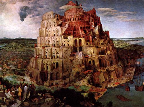 Pieter il Vecchio La torre di babele