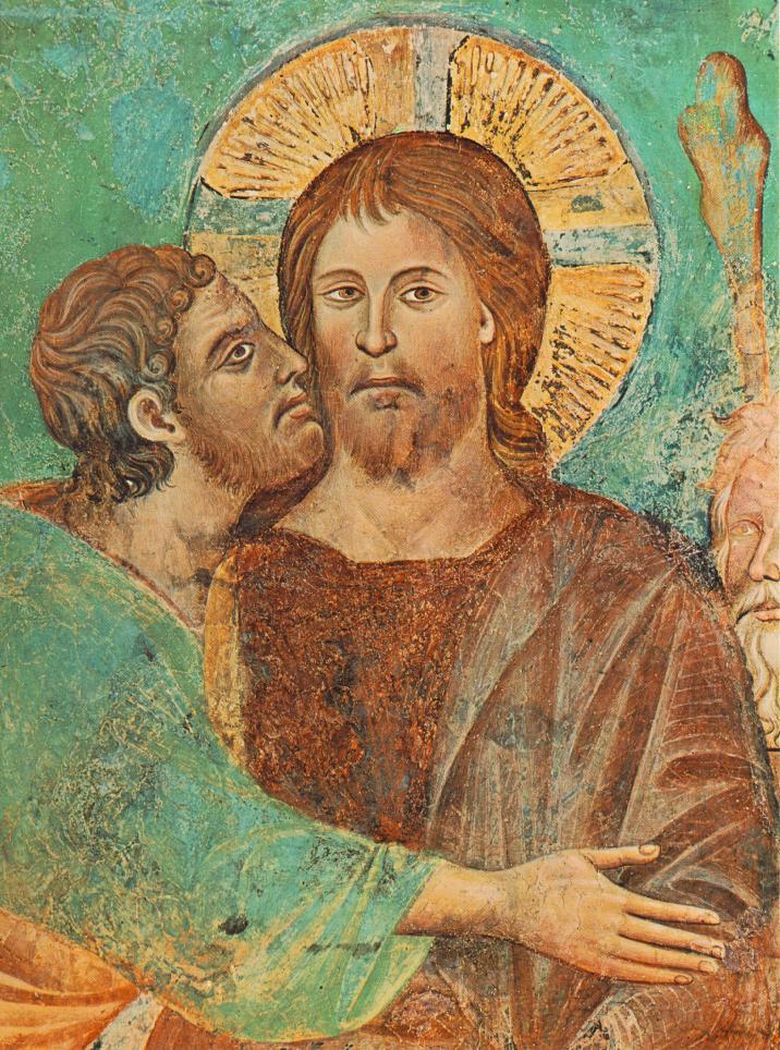Pilato e Gesù (II). Il bacio di Giuda (Cimabue)