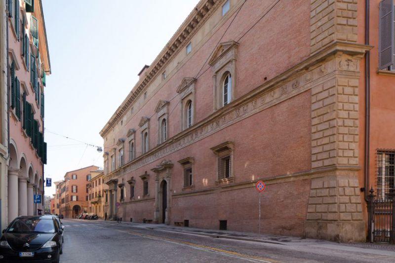 Brueghel (II) Palazzo Albergati la facciata