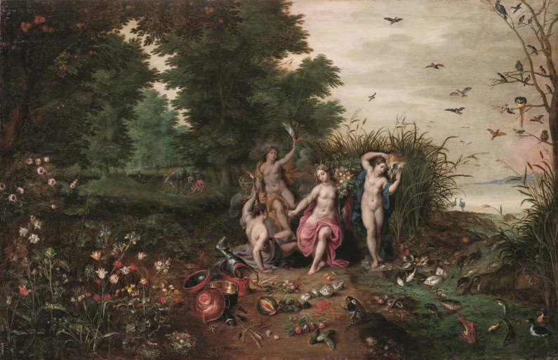 Brueghel (II)  Jan Brueghel il giovane Allegoria-dei-quattro-elementi