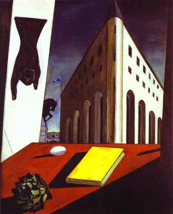 Giorgio De Chirico e la Metafisica  Torino 1914