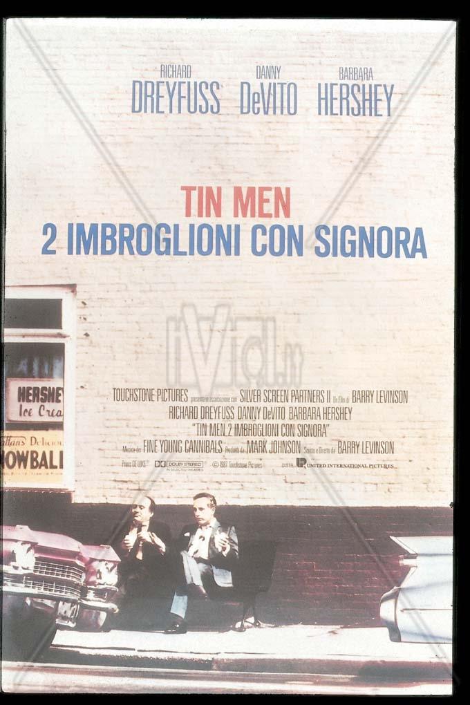 Tin Men: Locandina in Italiano