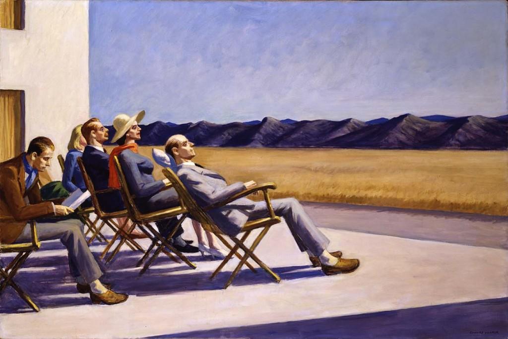 Edward Hopper (II): Vacanzieri (infelici?) al sole, a Cape Cod