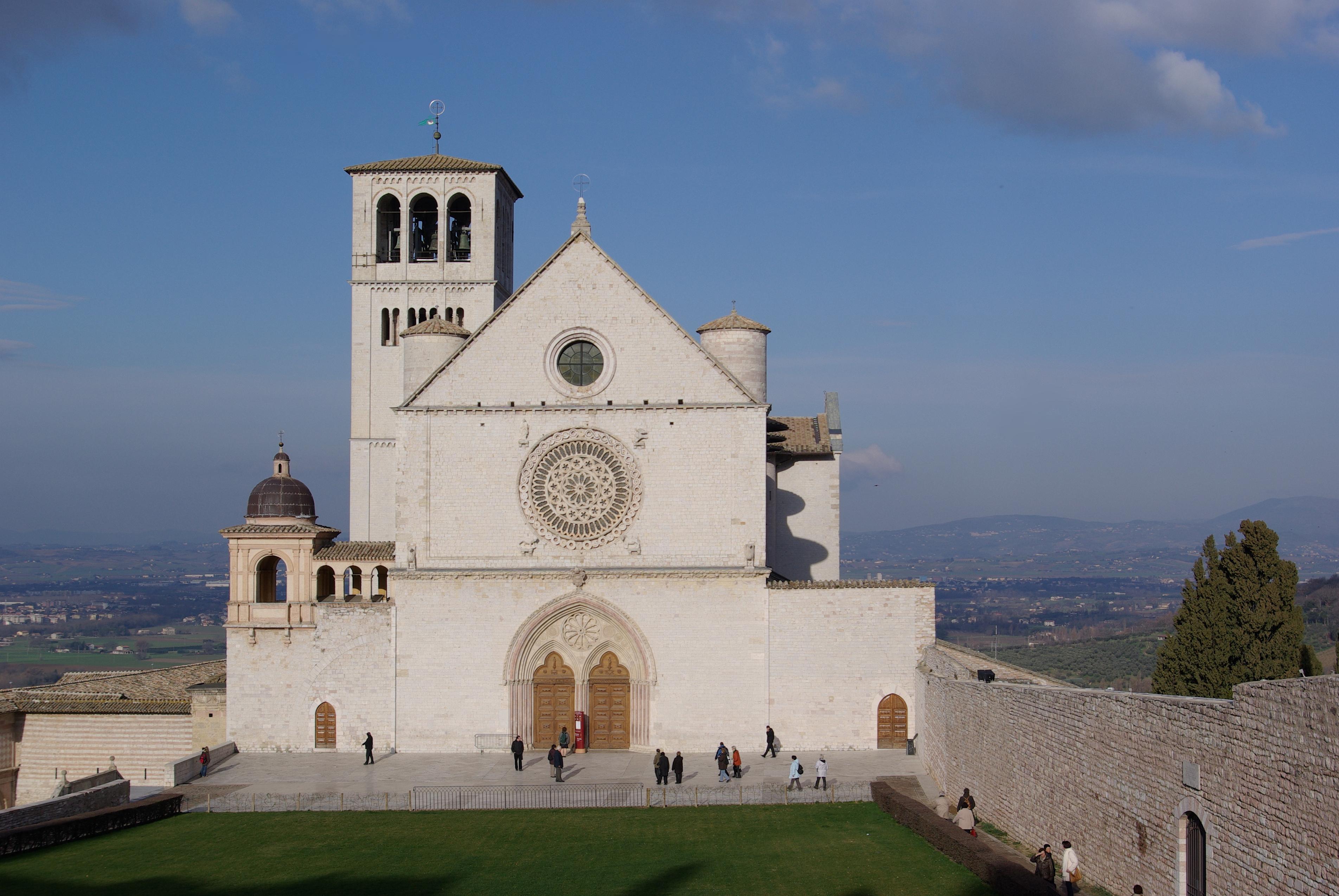 San Giuseppe da Copertino (II)  Assisi_San_Francesco_BW_1 Superiore
