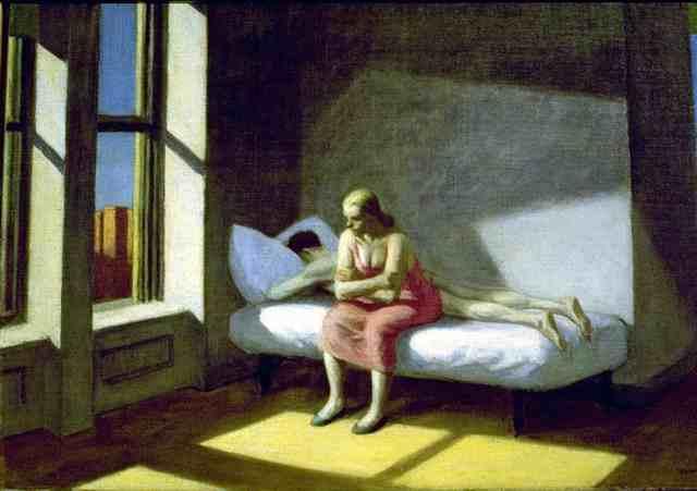 Edward Hopper (II) : Summer in the city (Estate in città)