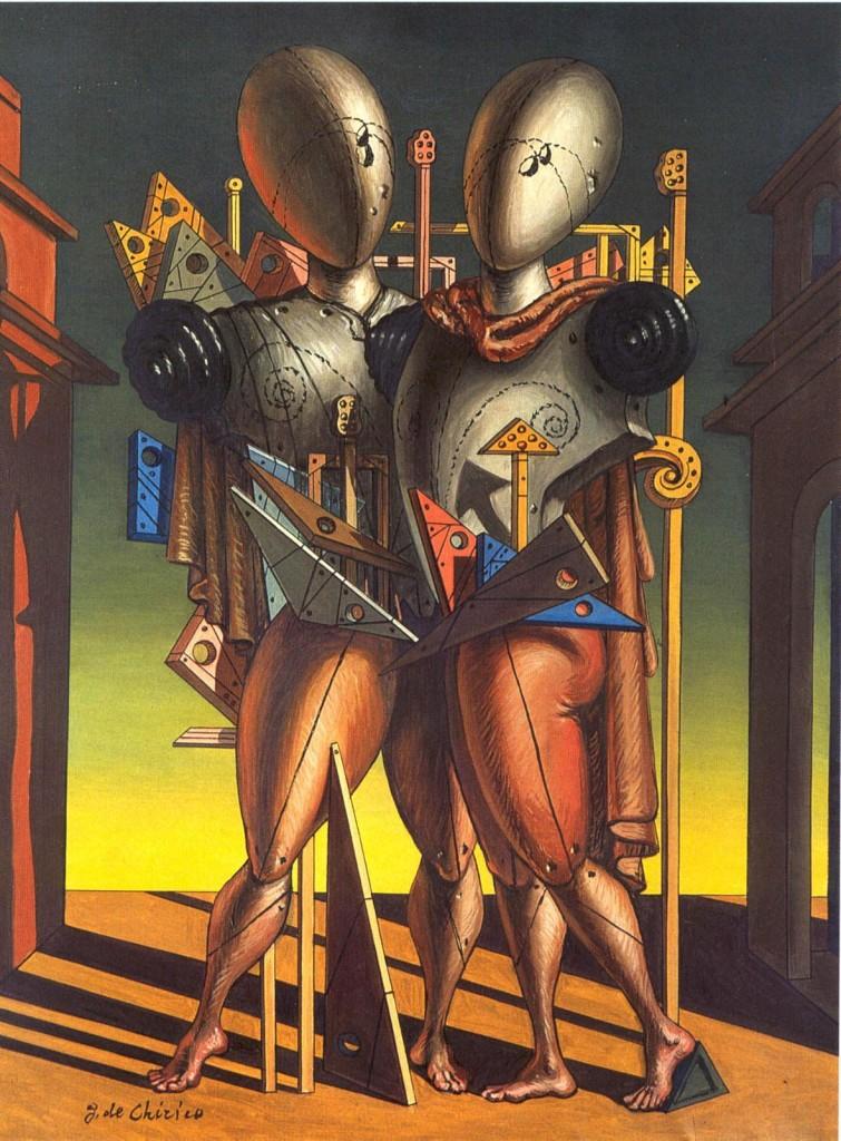 De Chirico e la  Metafisica :  Ettore & Andromaca