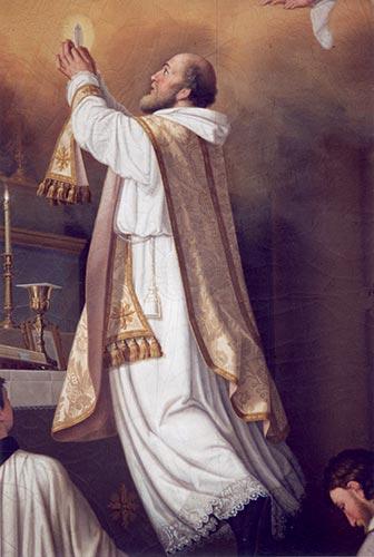 San Giuseppe da Copertino-preghiera-studente-eucaristia