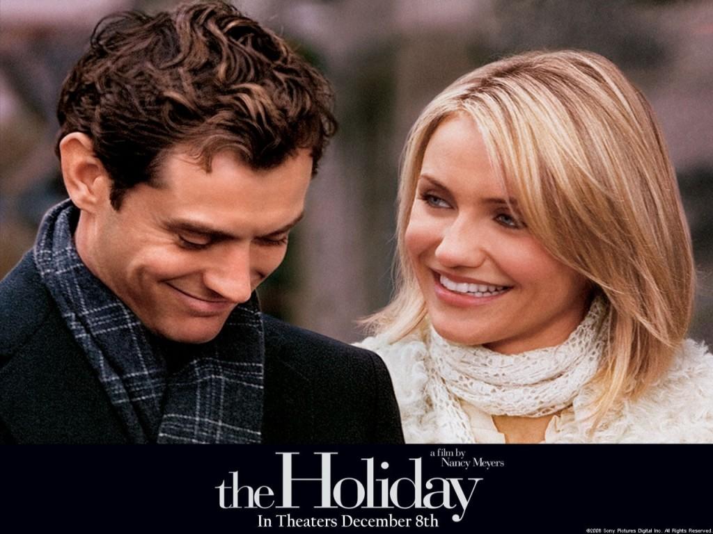 L'amore non va in vacanza - Graham ( Law) e Amanda (Diaz)