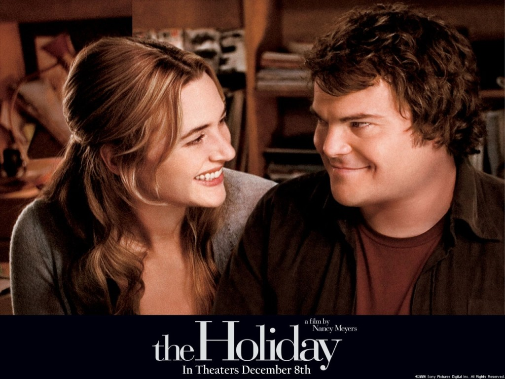 L'amore  non va in vacanza - Winslet (Iris) e Black (Desmond)
