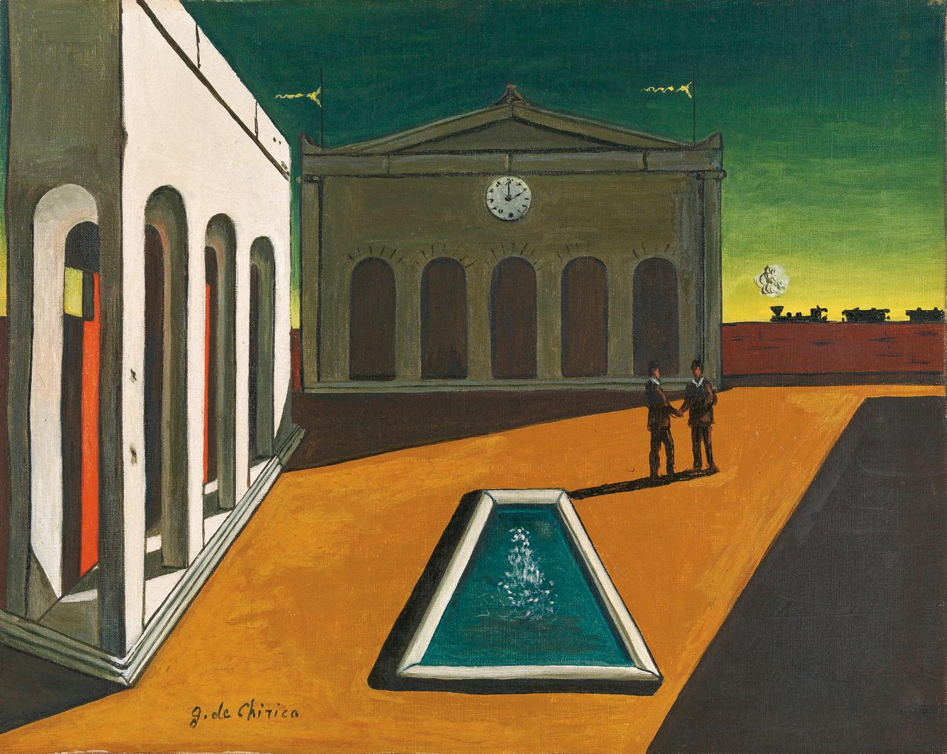 De Chirico e la Metafisica : Piazza d'Italia
