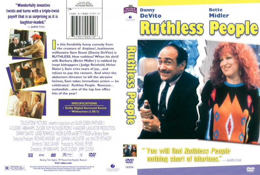 Ruthless People: La  locandina del film
