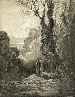 Omaggio a Dante (I): Belacqua, Dante e Virgilio nel Purgatorio