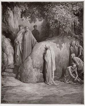 Omaggio a Dante (I): Belacqua Dante incontra gli indolenti