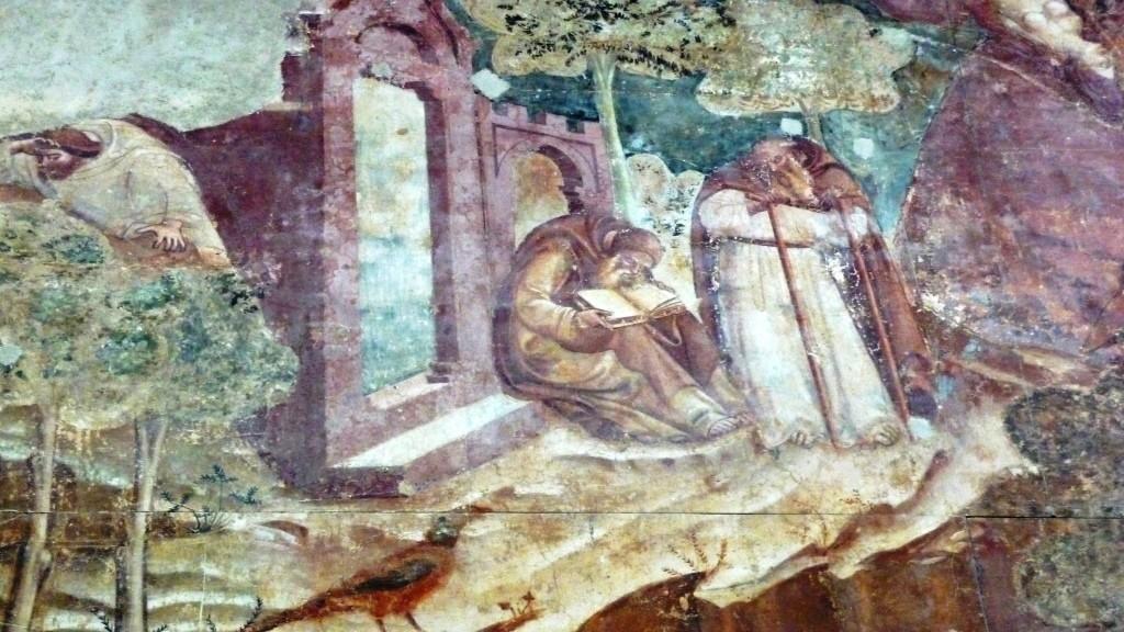 Omaggio a Dante (I): Belacqua dipinto