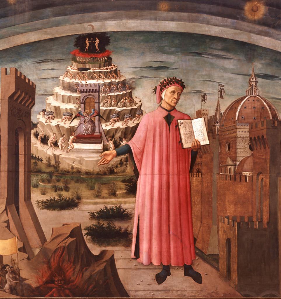 Omaggio a Dante (I): Dante di Domenico Michelino