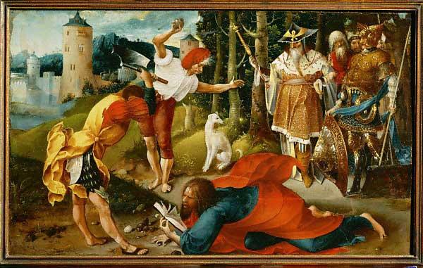 Jan de Beer : Martirio di San Matteo