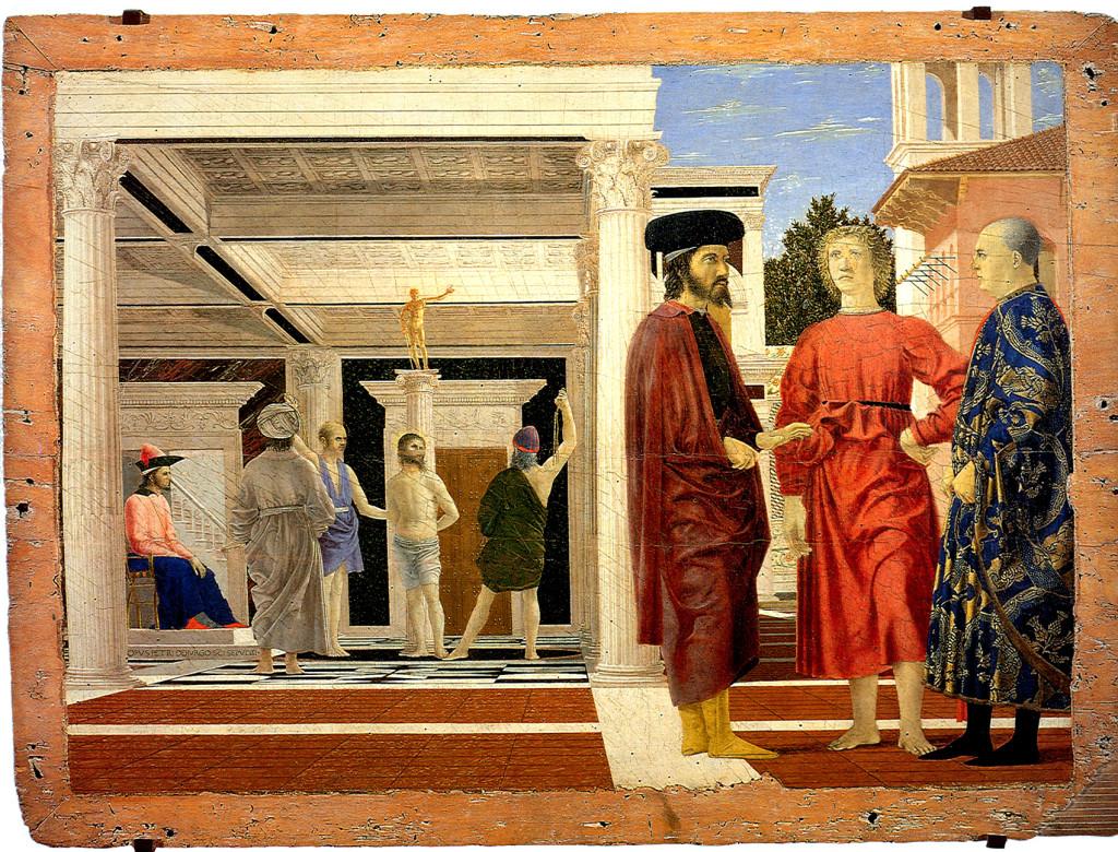 Pier della Francesca: Flagellazione di Cristo