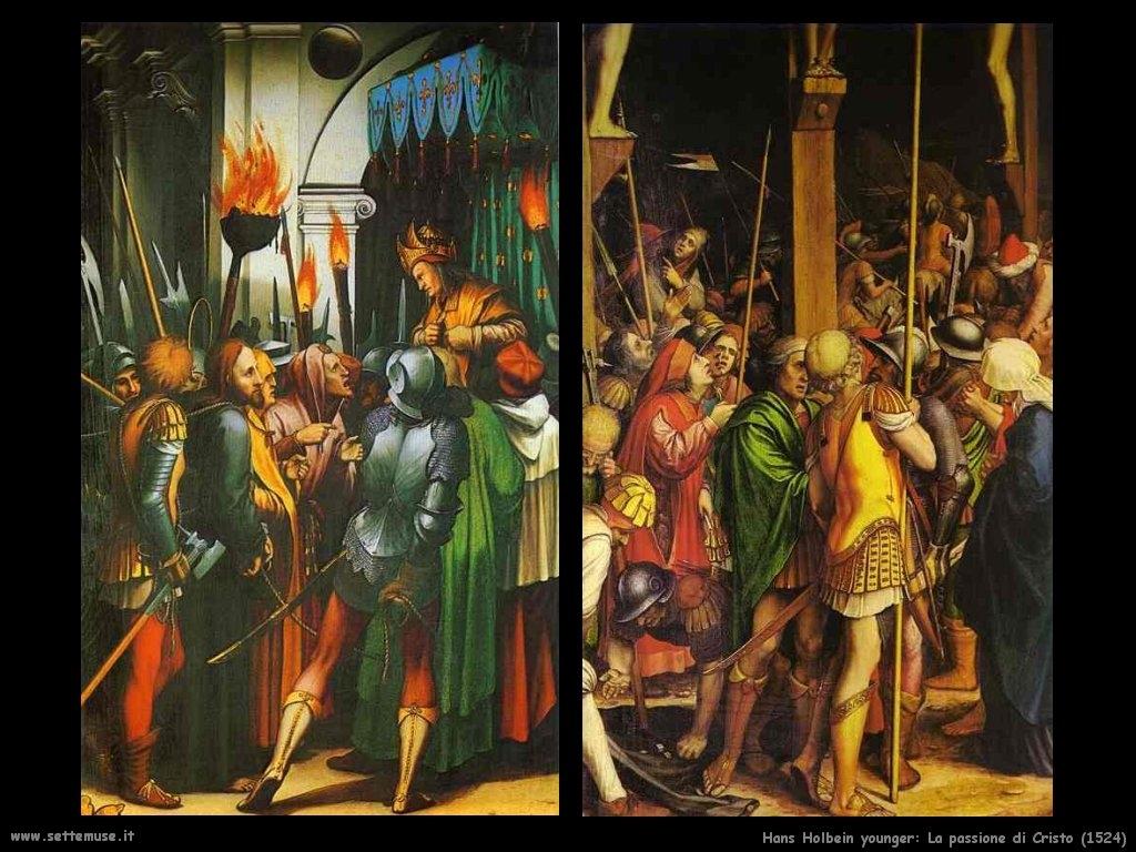 Hans Holbein: La Passione di Cristo