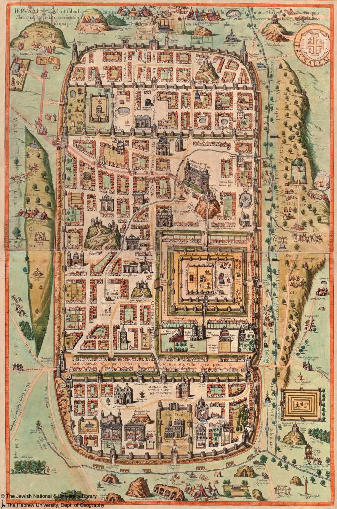 Pilato, Giuda e Matteo (I): Gerusalemme-al-tempo-di-Gesù