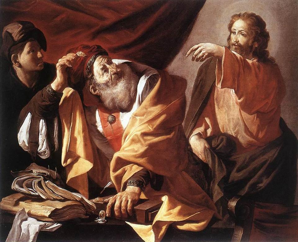 Hendrick - Ter - Brughen: Vocazione di San Matteo
