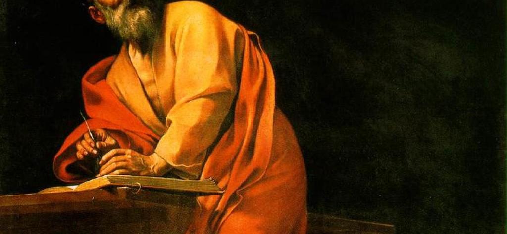 Caravaggio: L'ispirazione di San Matteo