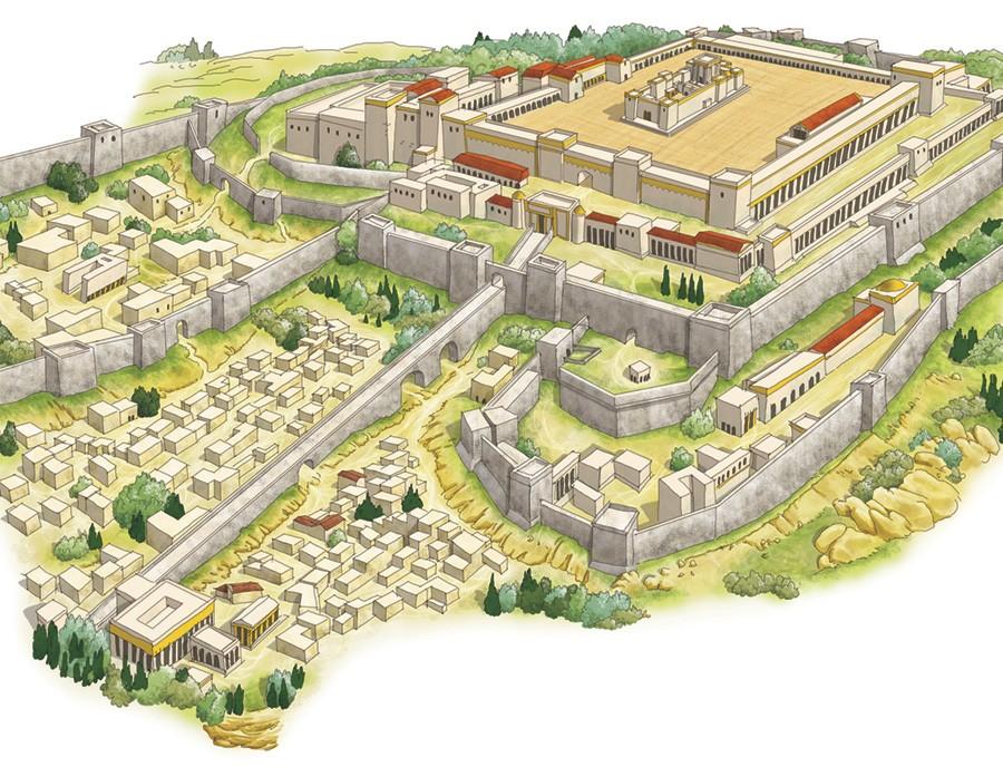 Pilato, Giuda e Matteo (I):  Gerusalemme e il Tempio