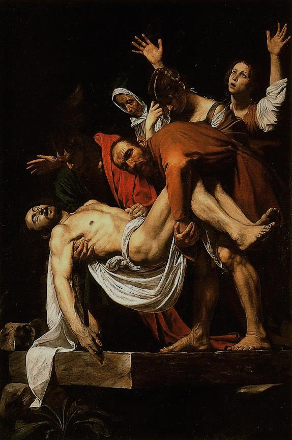 Michelangelo Mersi (Caravaggio ) : La Deposizione