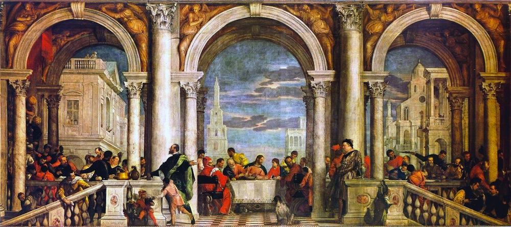 Paolo Veronese: Convito in casa Levi