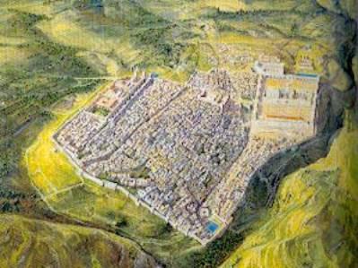 Pilato, Giuda e Matteo (III) - Gerusalemme e il Grande Tempio