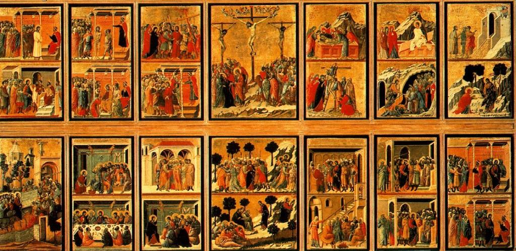 Duccio Boninsegna: Passione di Cristo