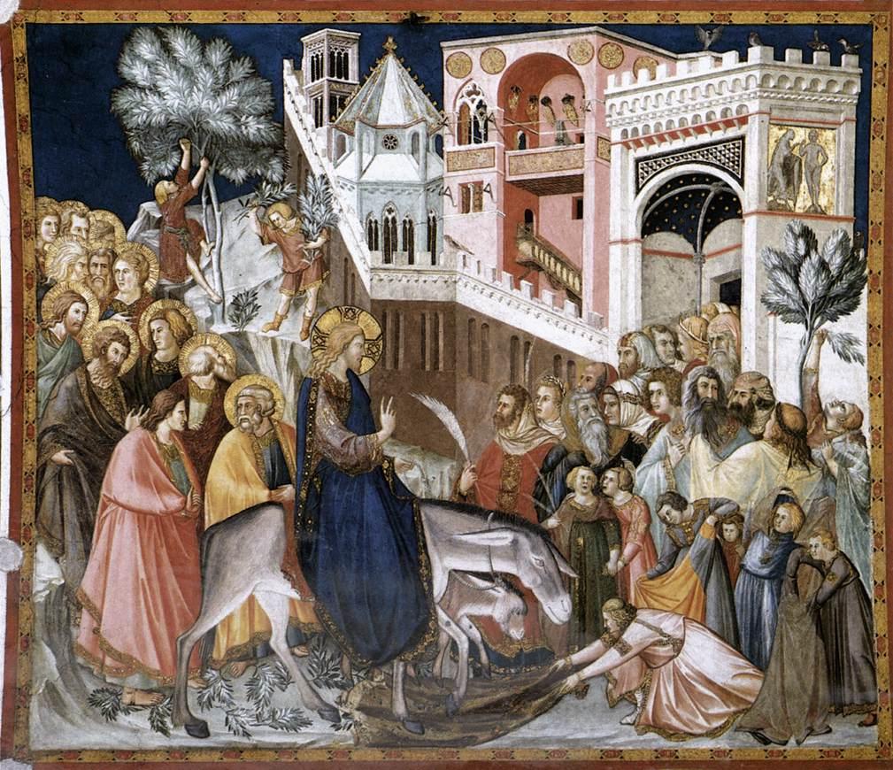 Pietro_Lorenzetti : La Domenica delle Palme -